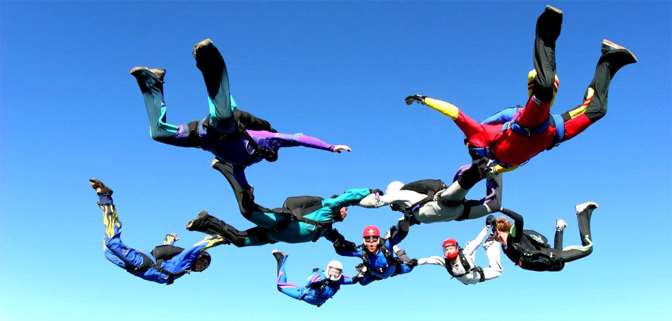 skydiving central coast