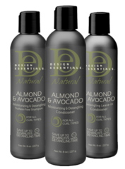 Natural Almond & Avocado Trio