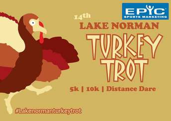2019 Lake Norman Turkey Trot logo
