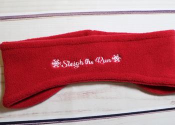 Sleigh the Run Headband