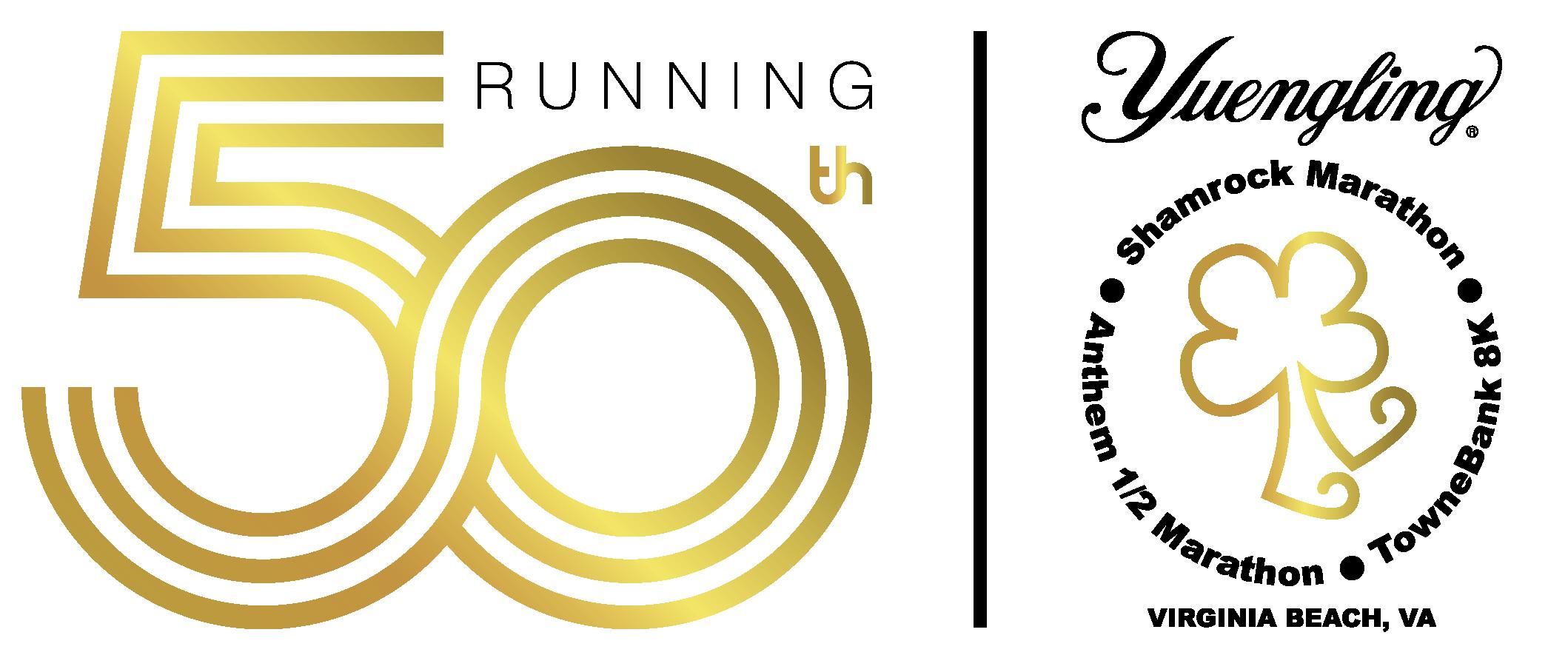 50 Years Of Shamrock! Logo