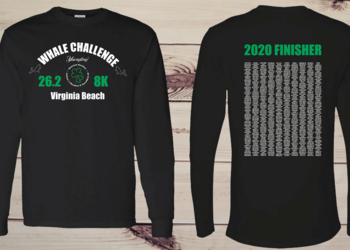 2020 Whale Challenge Finisher Tee
