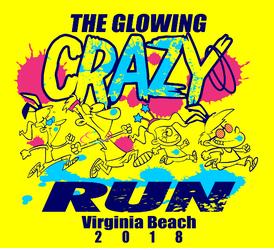 The Glowing Crazy Run 2018