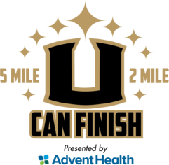 U Can Finish 5 Mile & 2 Mile presented by AdventHealth (Running Series Event #3)  logo