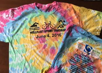 Wellfleet Sprint Rainbow Tie Dye T-Shirt