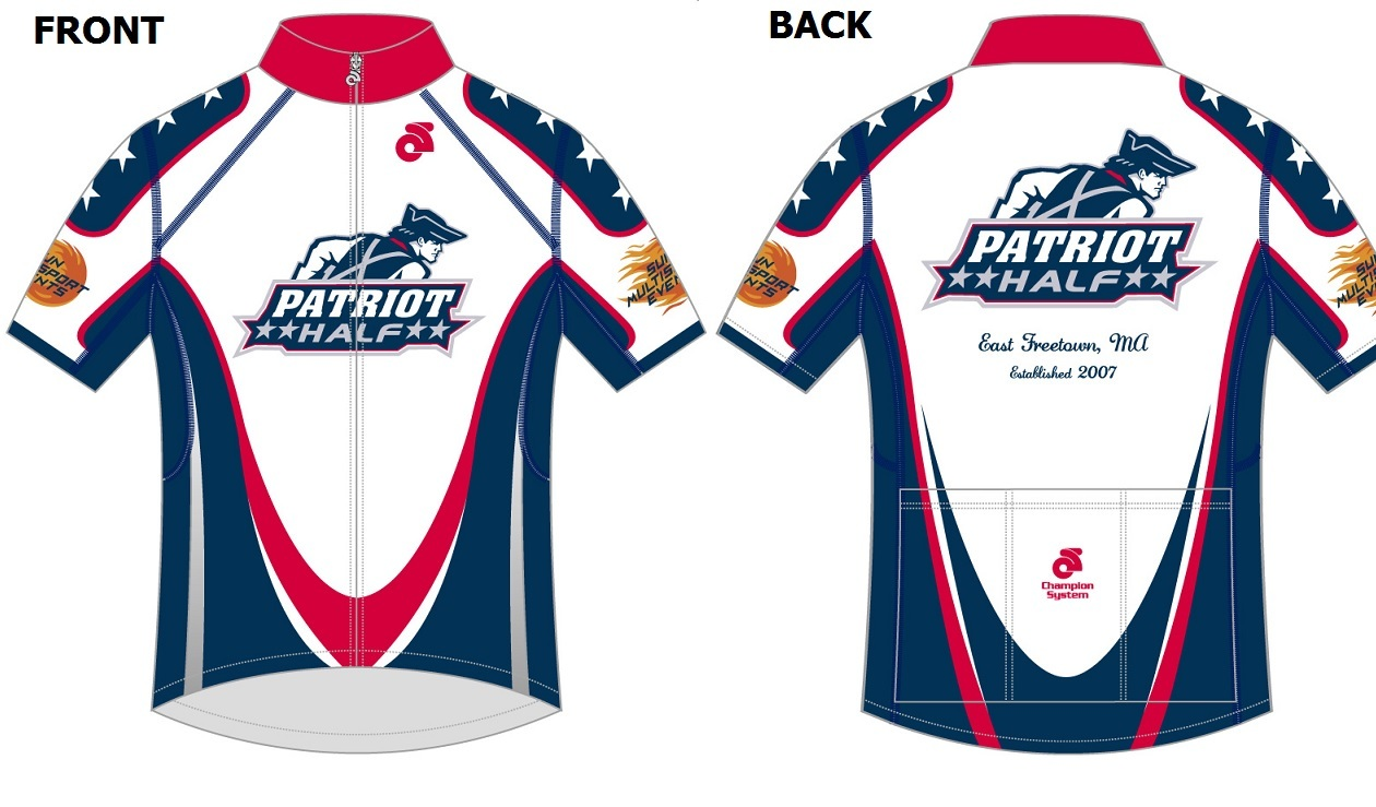 Patriot Half Cycling Jersey