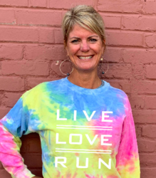 LIVE LOVE RUN TIE DYE CREWNECK