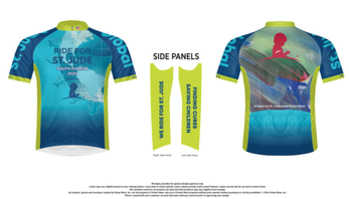 Official St. Jude Ride Cycling Jersey - Men