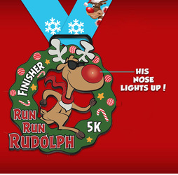 RUN RUN RUDOLPH VIRTUAL 5K logo