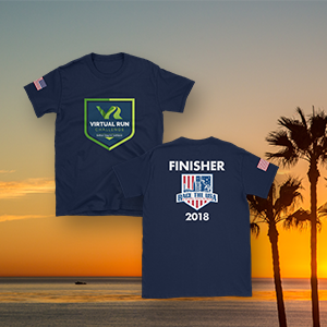 Race the USA Finisher T-Shirt (Only)
