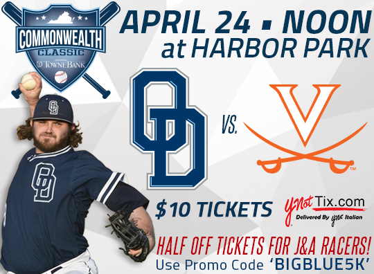 ODU Baseball at Harbor Park