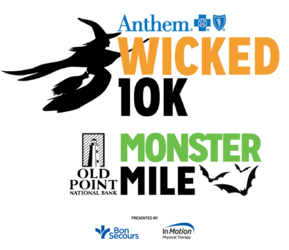 2019 Anthem Wicked 10K & Old Point National Bank Monster Mile logo