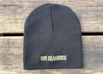 Run Shamrock Beanie