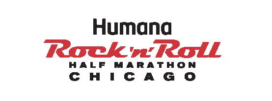 Humana Rock 'n' Roll Chicago Half Marathon Logo