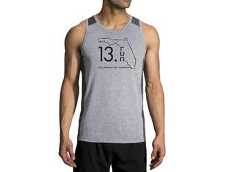 Brooks Men's Distance Tank - 13.RUN