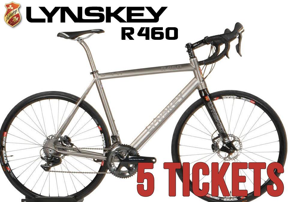 5 Lynskey R460 Raffle Tickets
