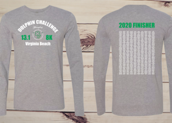 2020 Dolphin Challenge Finisher Tee