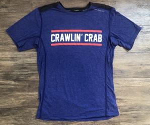Crawlin' Crab Men's Brooks Distance S/S Shirt