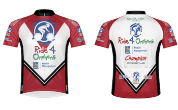Women's Ride 4 Orphans Jersey by Primal Wear