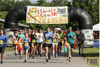 Summer Slam 5k & The Little Slam 1 Mile logo