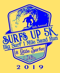 6th Annual Surf's Up 5k, Big Surf Sand Mile & Little Surf Kids Mile