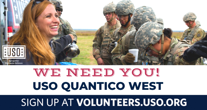 USO of Metropolitan Washington-Baltimore: Call for Volunteers
