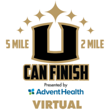 U Can Finish 5 Mile & 2 Mile presented by AdventHealth Virtual (Running Series Event #3)