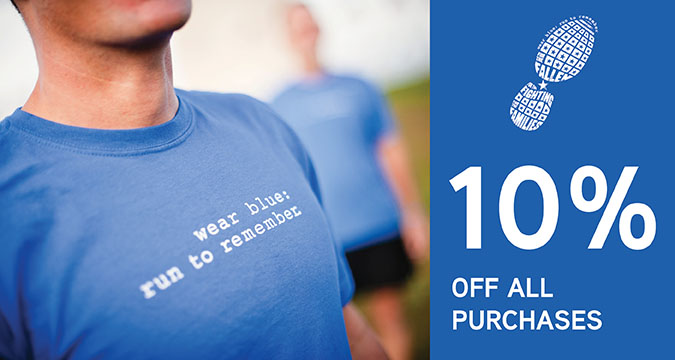 wear blue: run to remember Image