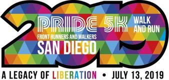 2019 Pride 5K Run & Walk logo