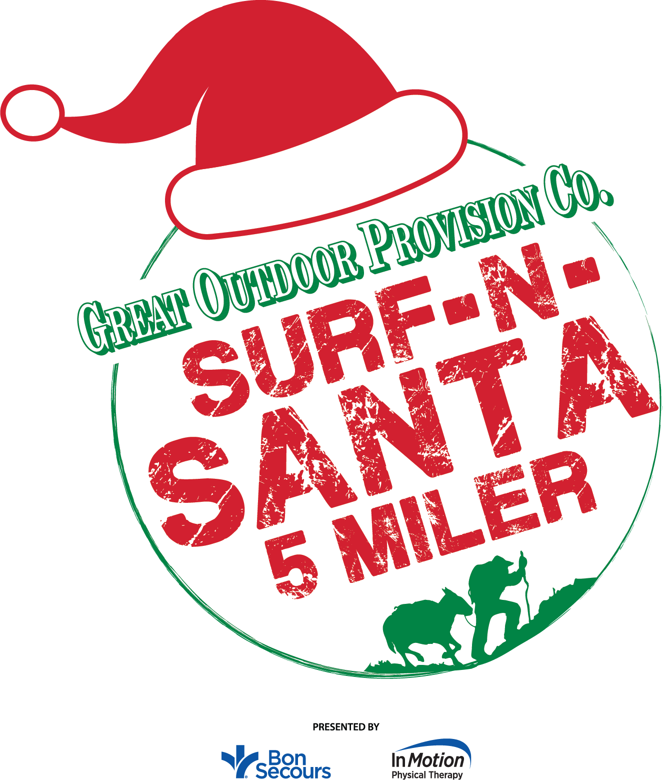2018 Great Outdoor Provision Co. Surf-n-Santa 5 Miler