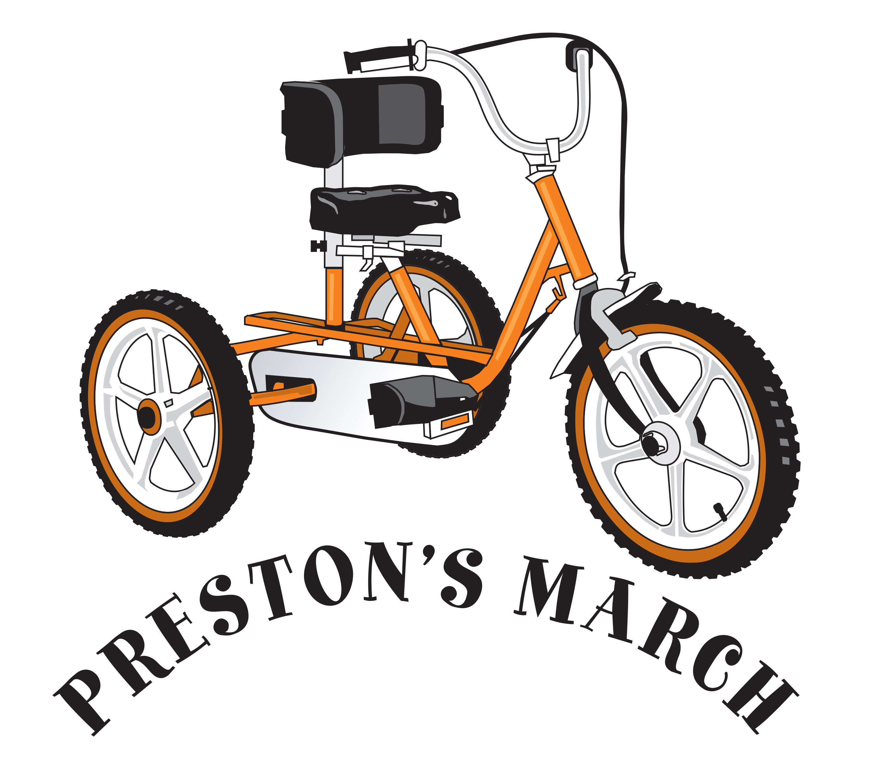Preston's March Logo
