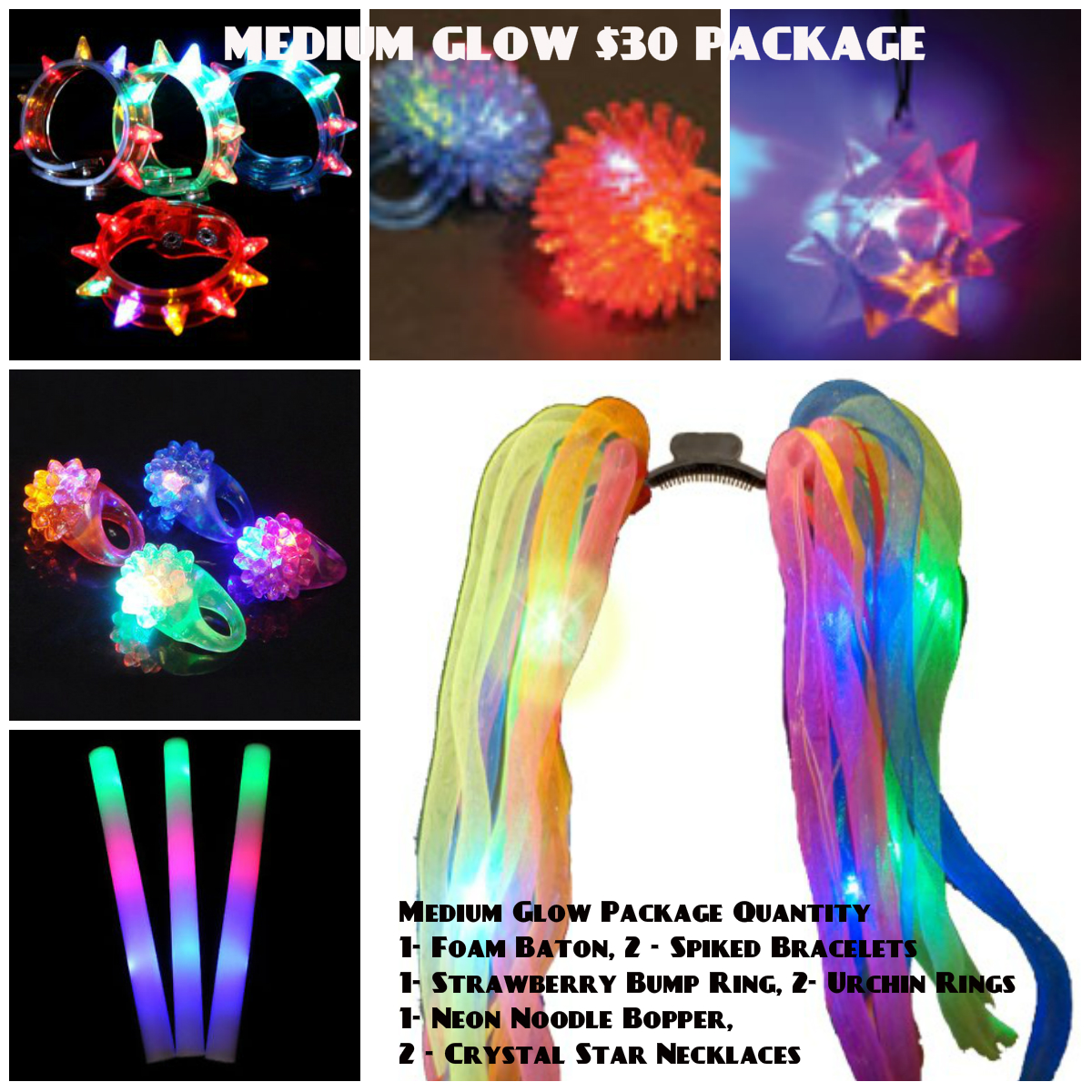 Medium Glow Accessory Package