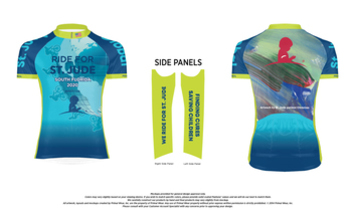 Official St. Jude Ride Cycling Jersey - Women