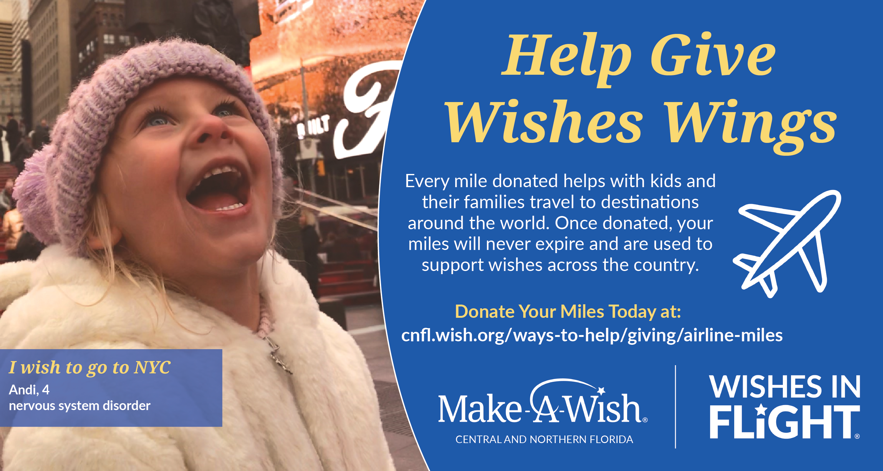 Make-A-Wish Central and Northern Florida Image