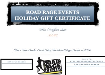 Combo Event Gift Certificate - Good for Combo Registration in 2020