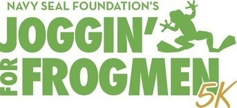 Joggin' For Frogmen - Louisville 5K  logo