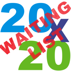 20x20 Waiting List Tent