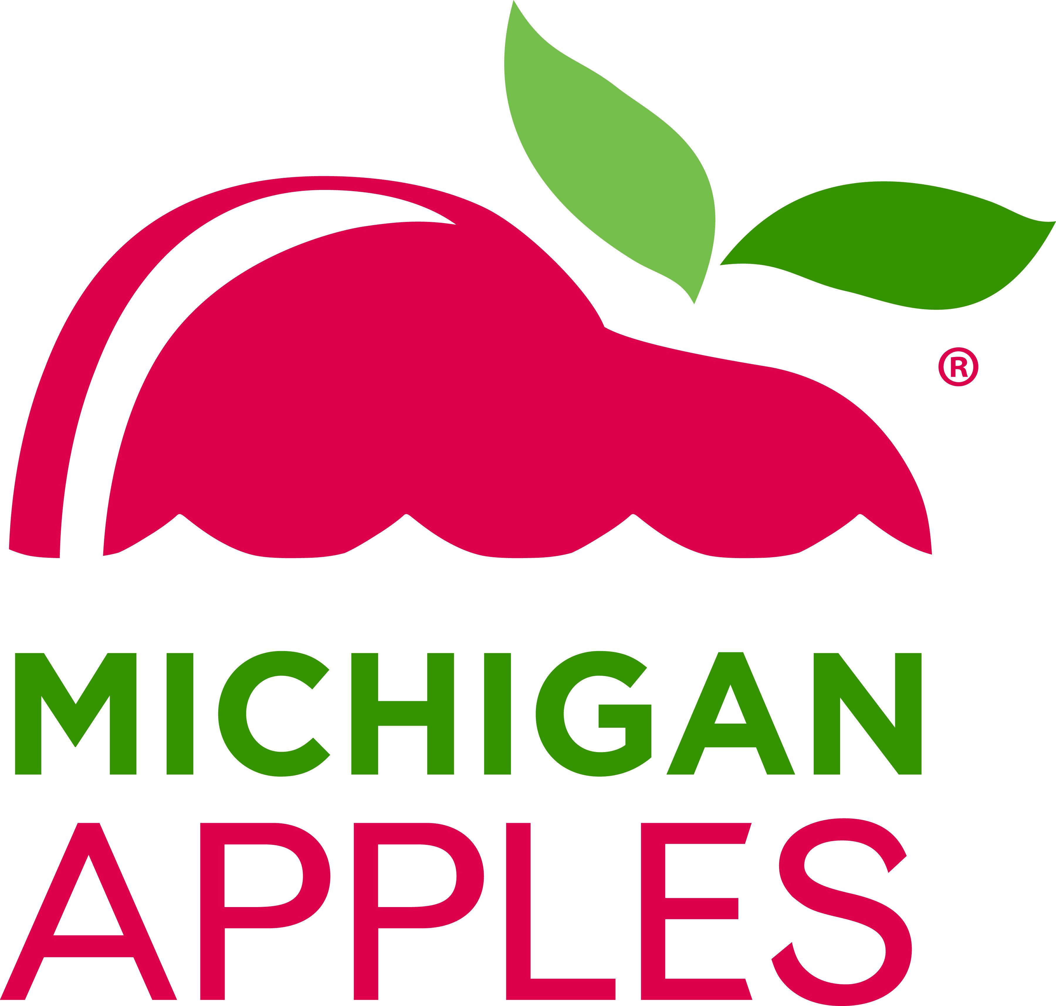 Michigan Apples Logo