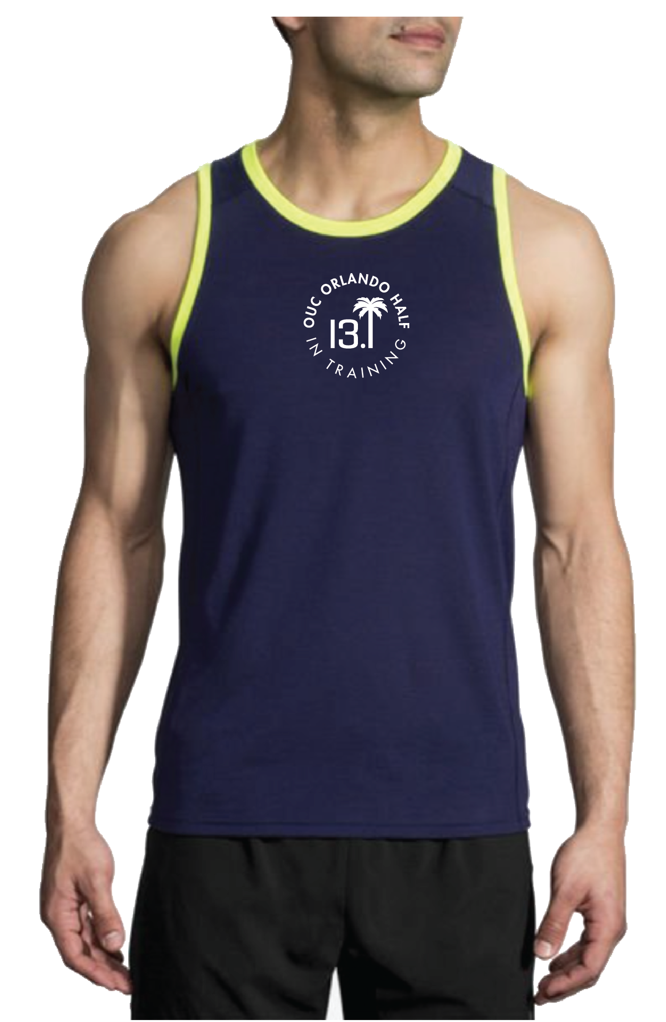Brooks Men's Distance Tank - Navy