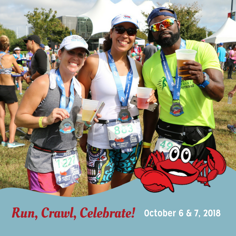 The Neighborhood Harvest Crawlin' Crab Half Marathon and 5K presented by Bon Secours In Motion