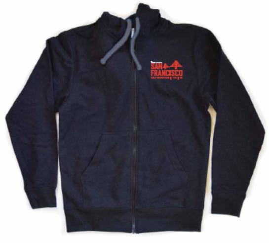 Recover Brand Zip Hoodie - Charcoal