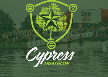 Cypress Triathlon (In Honor of Cheryl Stitt) logo