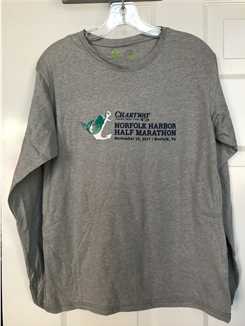 2017 Norfolk Harbor Half Marathon Race Shirt