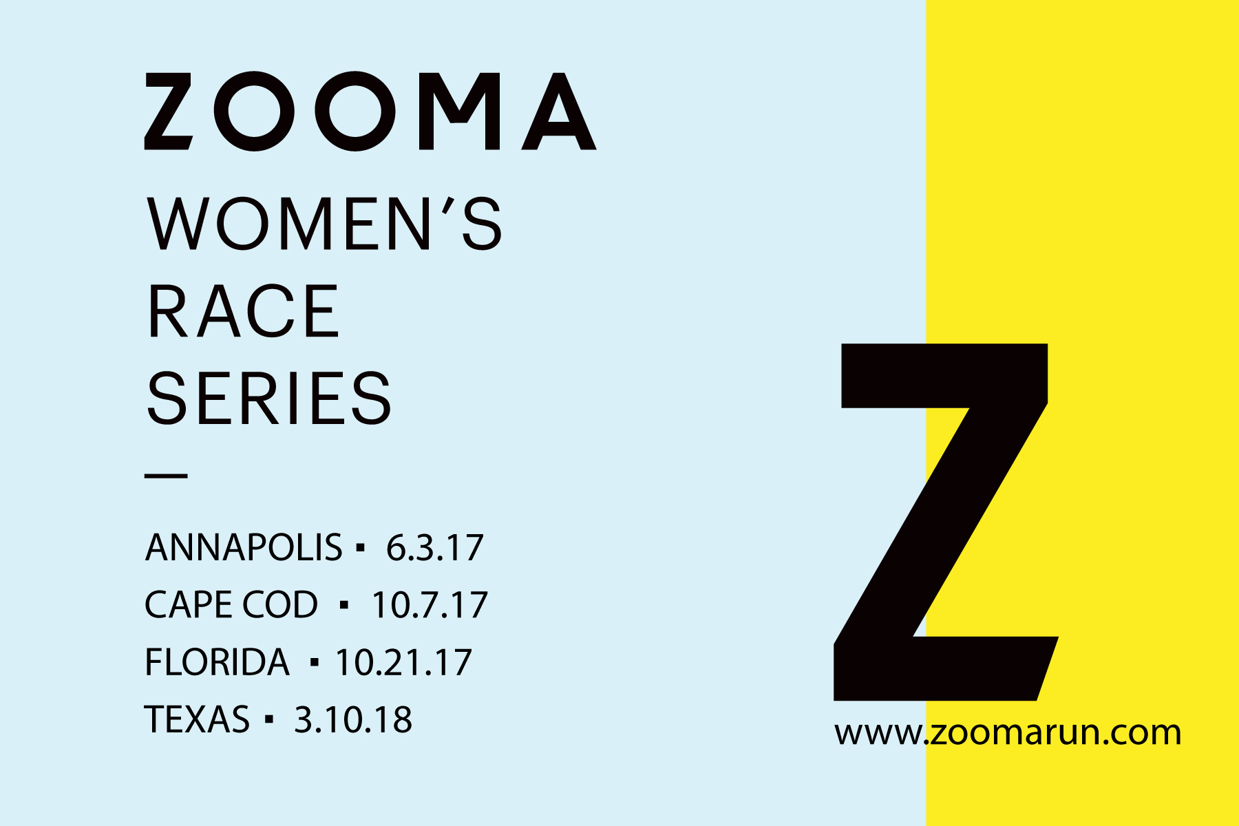 Zooma Women's Race Series