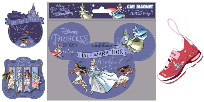 Disney Princess Half Marathon Weekend   Commemorative Bundle
