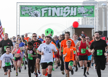 The VIRTUAL Beach Monster Dash 5k & Spooky 1 Mile