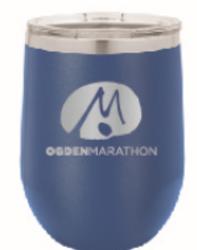 Ogden Marathon Wine Tumbler - Blue