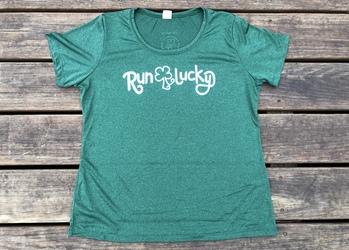 Shamrock Run Lucky Tech Shirt