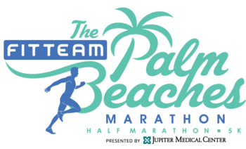FITTEAM Palm Beaches Marathon logo