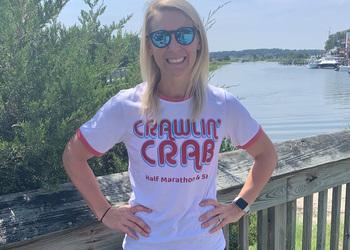 Retro Crawlin' Crab Tee